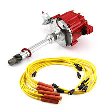 chevy hei distributor chevy sbc 350 bbc 454 hei distributor accel spark plug wires ignition combo kit