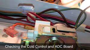 wiring diagram refrigerator thermostat wiring fixing a kenmore whirlpool refrigerator that intermittently on wiring diagram refrigerator thermostat