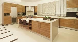 Modern Kitchen Design With Brown Kitchen Cabinets Kitchen Cupboards Design