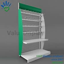 Hot Food Display Stands Interesting China Supermarket Hot Sale Four Tiers Iron Display Stand For Biscuit
