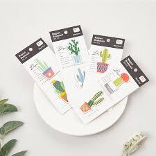 2019 JUKUAI <b>Cute Cactus Magnetic Bookmarks</b> For Book ...