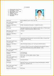 12 Awesome Format For A Job Resume Resume Sample Template And