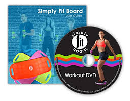 simply fit board the abs legs core workout balance board with a twist as seen