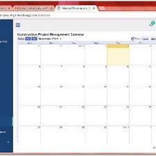 Construction Project Management Calendar Download Scientific Diagram