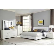 White furniture bedrooms Bedroom Sets Strick Bolton Alice White 4piece Bedroom Set With Led Headboard Overstock Buy White Bedroom Sets Online At Overstockcom Our Best Bedroom