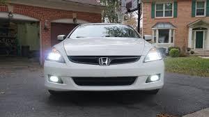 2003 Honda Accord Coupe Fog Lights 2006 07 Honda Accord Led Fog Light Install