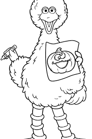 Small Picture Big Bird Coloring Pages download free printable coloring pages
