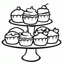 Kids love to savor it at any given time sometimes even forgetting the effect of excessive indulgence on their health. Free Printable Cupcake Coloring Pages Coloring Home