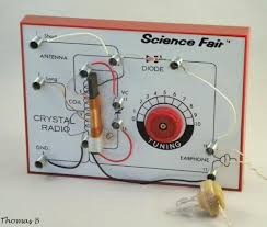 Image result for crystal in a radio transmitter