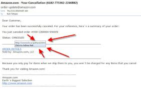 Cancelled Scam Amazon Order Amazon Cancelled