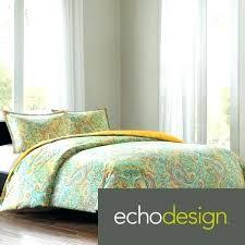 echo design jaipur bed skirt comforter sets