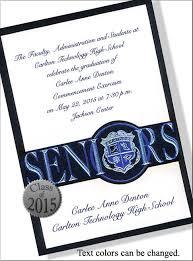 commencement invitations high school graduation invitations wording graduation