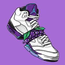 Cartoon Jordan Shoes Wallpapers on ...