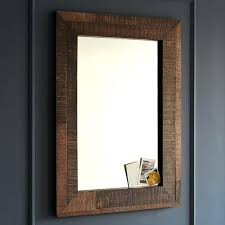 large reclaimed wood mirror rustic wood mirrors