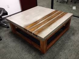 awesome diy concrete coffee table wood cedar and great for your home or office contact top