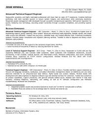Beautiful Technical Support Engineer Job Resume Contemporary Entry
