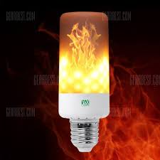 Flickering Fire Light Bulb Buy Ywxlight Led Light Bulb Leaping Flickering Flame In Stock Ships Today