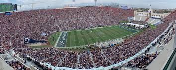 Los Angeles Memorial Coliseum Los Angeles Rams Football