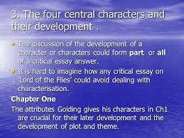 lord of the flies by william golding characterisationtheme ppt  6 3