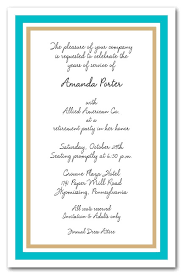 Party Borders For Invitations Malibu Gold Turquoise
