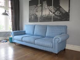 Our Sofa House - Blue check Laura Ashley Kingston Grande...   Facebook