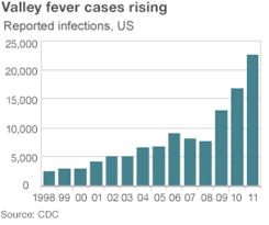Valley Fever An Incurable Illness In The Dust Bbc News