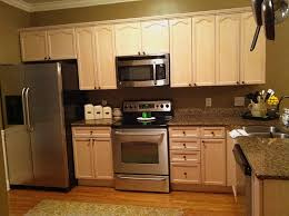 Painting Wooden Kitchen Doors Fancy Design Kitchen Painted Cabinets Features White Wooden