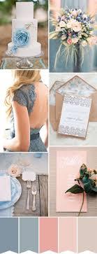 Perfect for a Summer Day - a Blue, Peach & Dusky Rose Pink Wedding Color  Palette wedding colour scheme palette