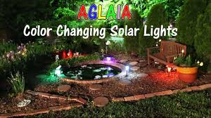 aglaia color changing solar lights outdoor review