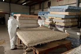 mattress recycling. Spring Back Mattress Recycling