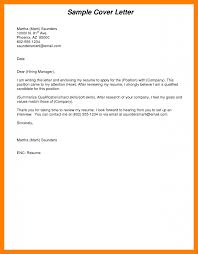 11 Cover Letter Sample Pdf Todd Cerney