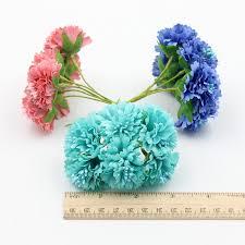 <b>6pcs</b>/<b>lot</b> 4cm Silk Dendranthema Artificial Flower For <b>Wedding</b> Party ...