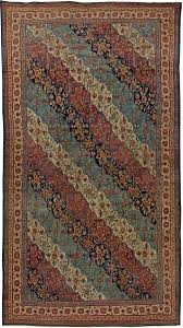 antique kirman rug bb5719