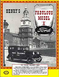 henry s fabulous model a ford history restoration and wiring diagrams