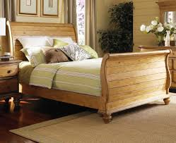 Black King Size Sleigh Bed | Metal Bed Frame Queen | King Size Sleigh Bed