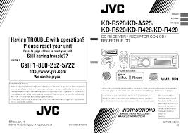 search jvc jvc kd kdg401 user manuals manualsonline com jvc kd r420