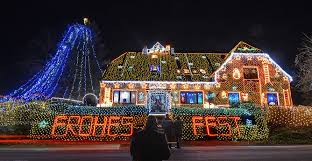 The Most Extravagant Christmas House Lights From All Over World