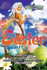 Free Easter Nightclub Party Flyer Template By Clubflyerscanada On ...