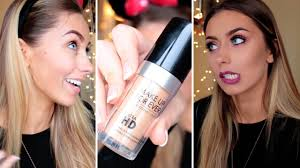 first impression make up for ever ultra hd foundation danielle mansutti you