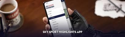 Sky Sport Highlights App