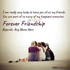 New Quotes About Friendship Unique New Happy Friendship Quotes With Name