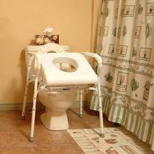 When To Choose A Commode Toilet Improving Bathroom Safety Carex Health Brands