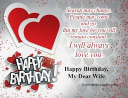 Birthday Quotes For Wife 19 Best Birthday Wishes And Messages For Wife Wordings And Messages