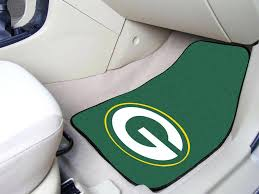 green bay packers car seat cover green bay packers x auto floor mat set of 2 car