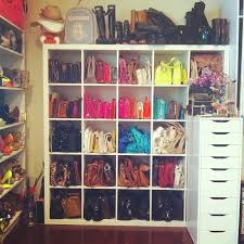 purse organization purse cuvvies ikea shelf for closet organization ikea s closet