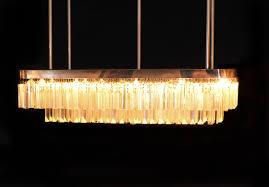 lot 109 lucite mid century chandelier
