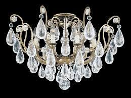 chandelier with swarovski crystals versailles rock crystal chandelier by schonbek