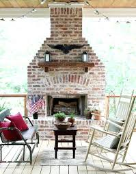 outdoor brick fireplace designs grill