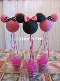 1 2 3 neat and tidy diy minnie mickey mouse centerpieces