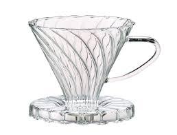 picture of hic pour over coffee borosilicate glass filter cone